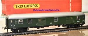 Trix Express 3387 D-Zug-Packwagen der DB, (22127)