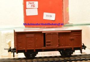Trix Express 3453 Gedeckter Güterwagen der DB, (22139)