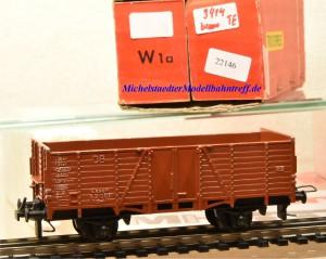 Trix Express (3)414 Offener Güterwagen der DB, (22146)