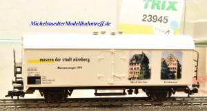 "Trix 23945 Kühlwagen ""Museen der Stadt Nürnberg"", (11104)"