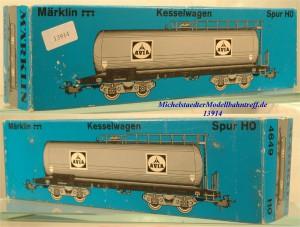 Märklin L 4649 Leerkarton Kesselwagen AVIA, (13914)