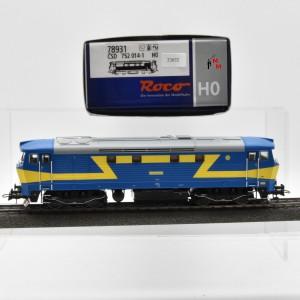 Roco 78931 Diesellok Reihe 752 der CSD, Wechselstrom, digital, (22632)