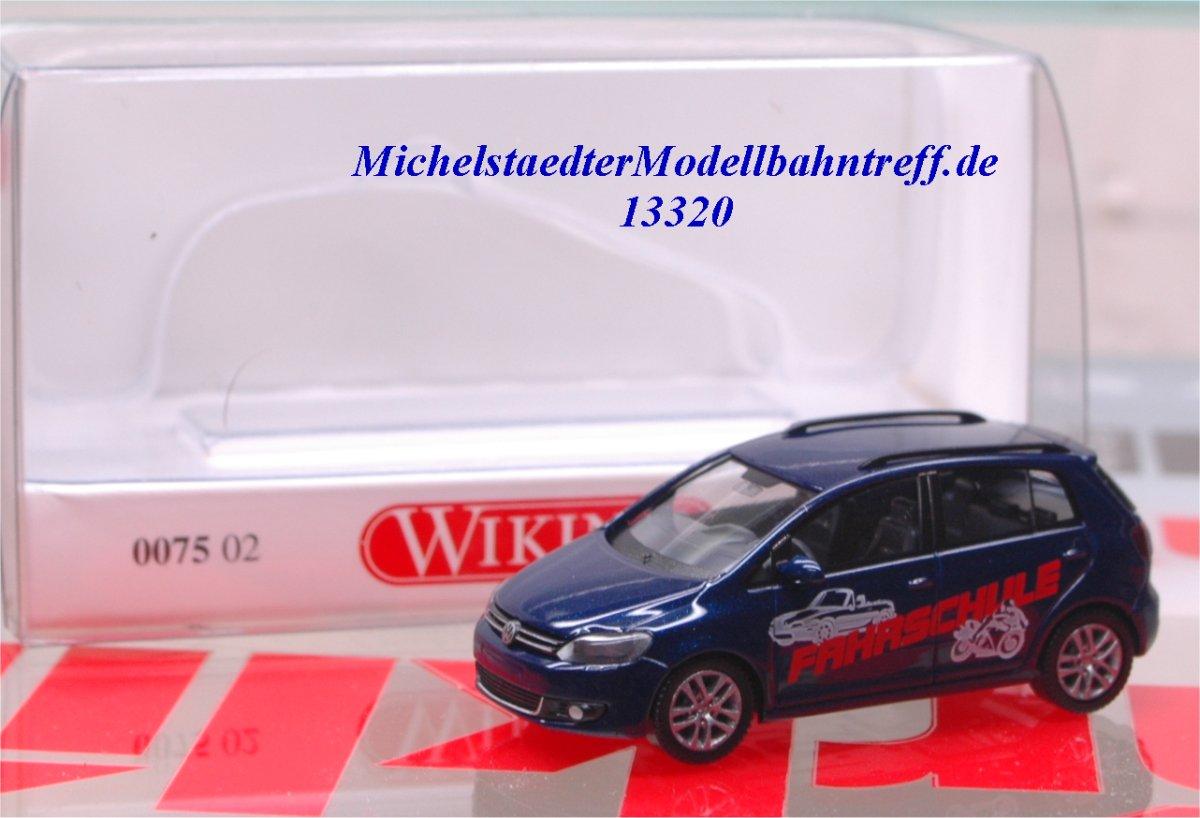 Wiking 0075 02 VW Golf Plus, Fahrschule, (13320)