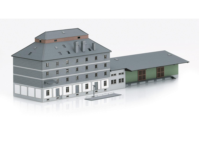 (Neu) Märklin Spur Z 89705 Bausatz Raiffeisen Lagerhaus mit Mark,