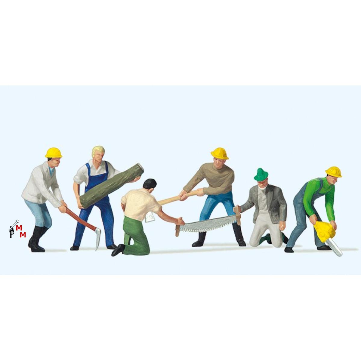 (Neu) Preiser 10042 Waldarbeiter,
