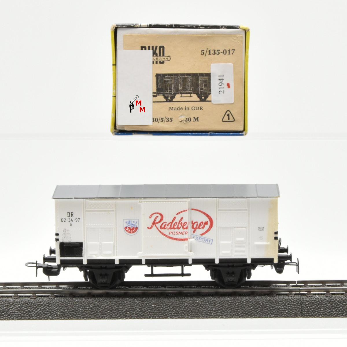 """Piko 135-017 Bierwagen """"Radeberger"""", (21941)"""