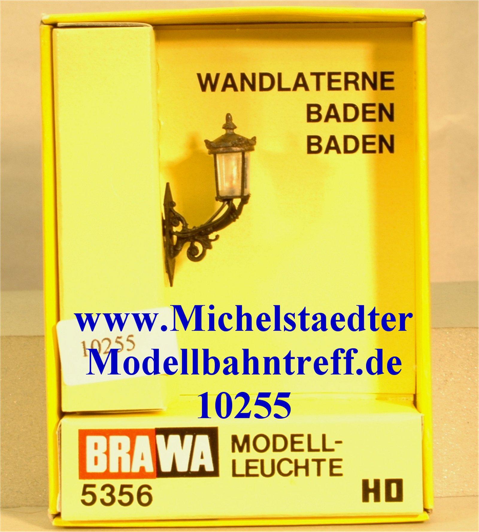 """Brawa 5356 H0 Wandlaterne """"Baden Baden"""", (10255)"""
