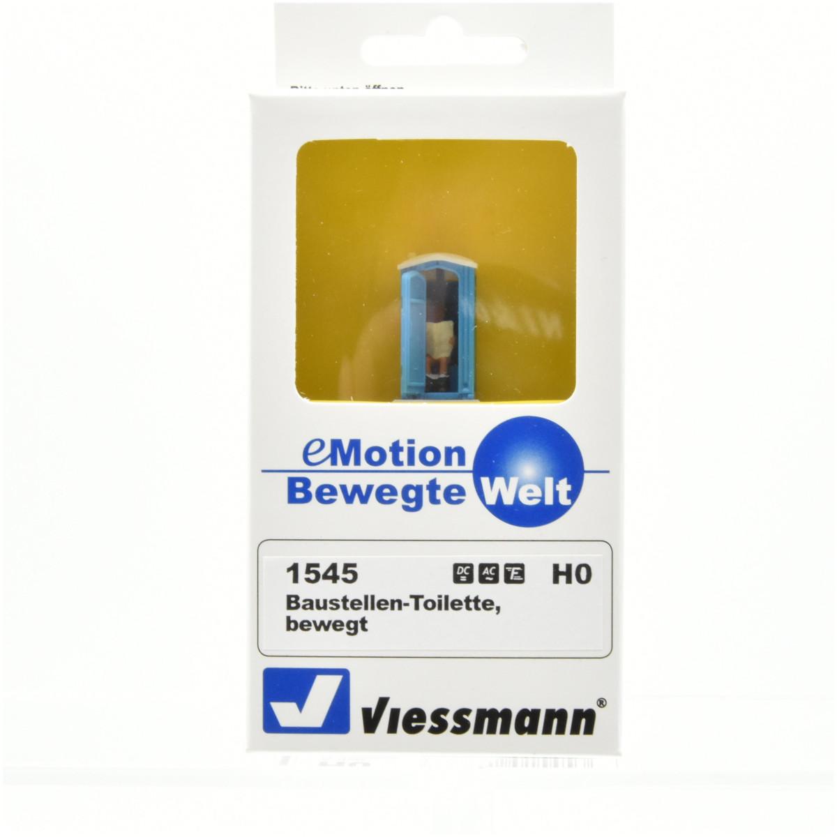 "(Neu) Viessmann 1545 Bewegte Welt ""Baustellen-Toilette"","