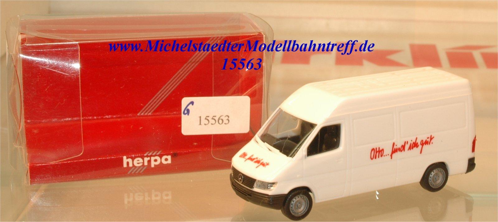 Herpa 994887 Modellauto MB Typ T1N Otto..find ich gut, (15563)