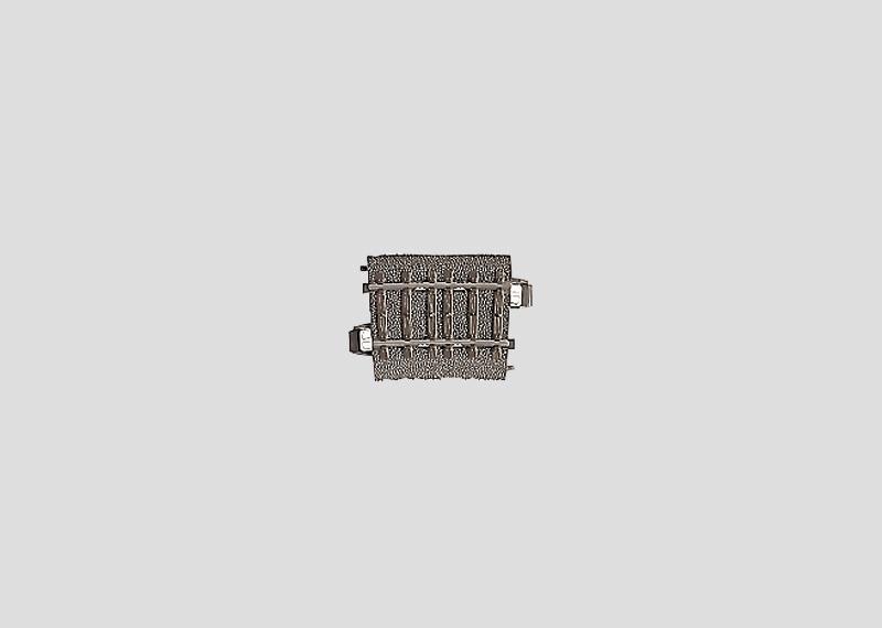(Neu) Märklin 24206 gebogenes Gleis R 2, 5,7°, Weichenerg. auf 3