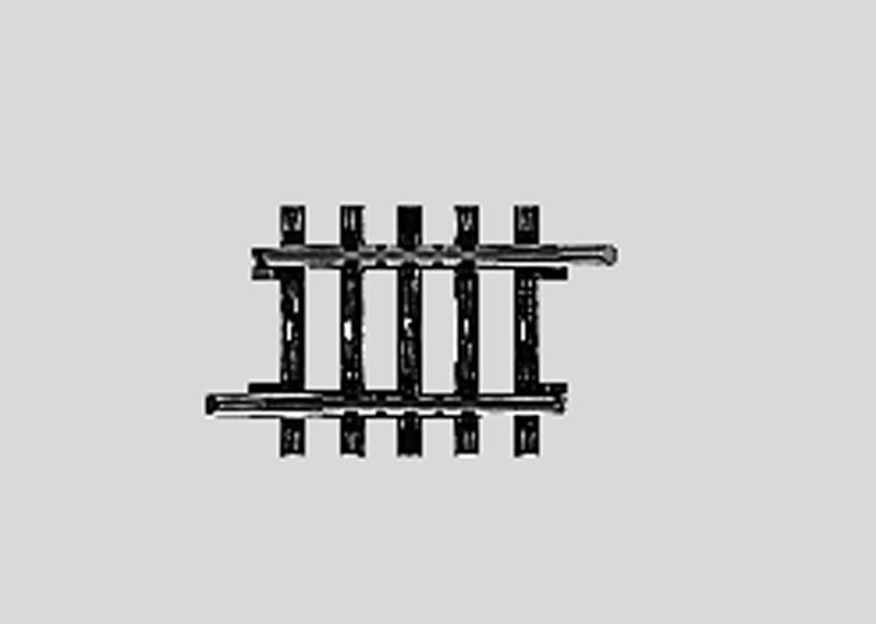 (Neu) Märklin 2208 gerades Gleis 35,1 mm,