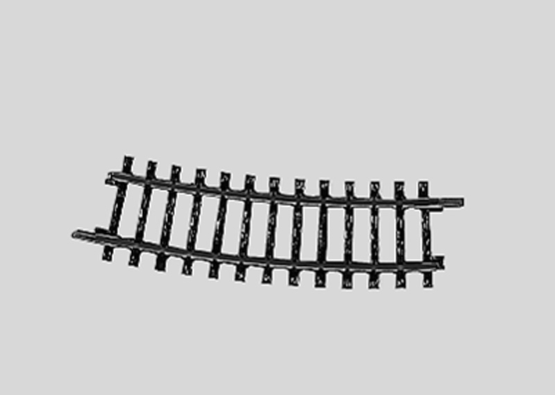 (Neu) Märklin 2223 geb. Gleis Normalkreis I 15°, 1/2