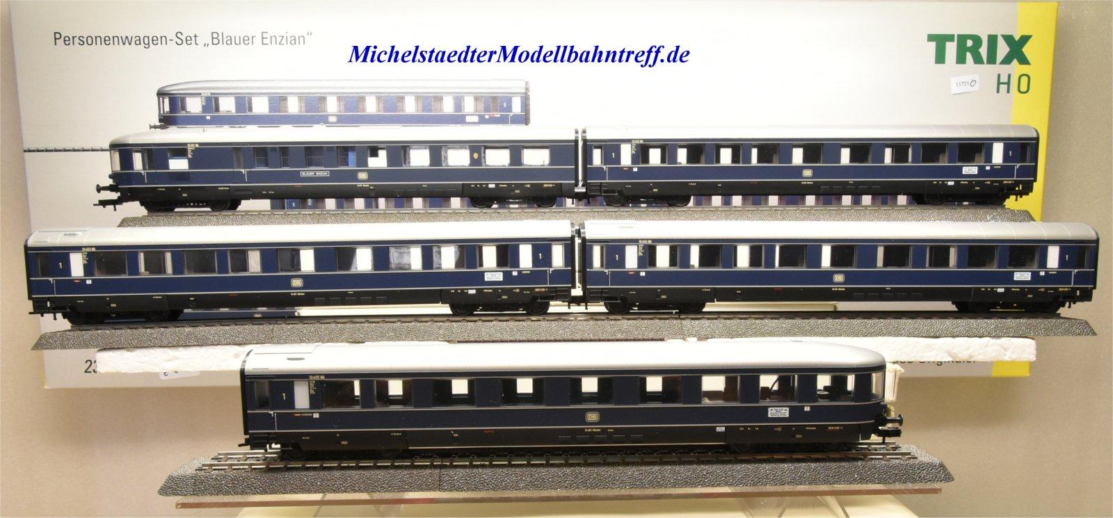 """Trix 23373 Wagenset """"Blauer Enzian"""", (11721)"""
