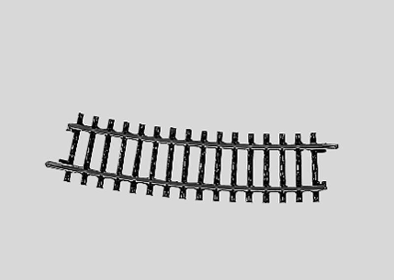 (Neu) Märklin 2233 geb. Gleis Normalkreis II 15°, 1/2