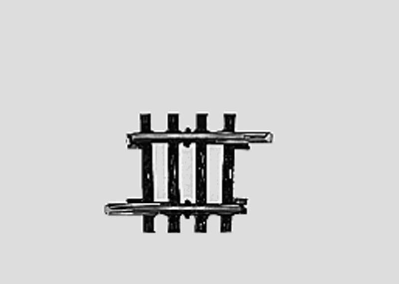 (Neu) Märklin 2235 geb Gleis Normalkreis II 3°, 1/8