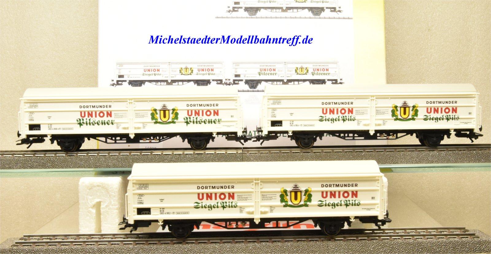 """Trix 24408 Bierwagen-Set """"Dortmunder Union"""", (15827)"""