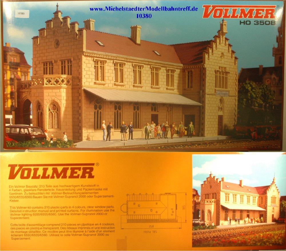 """(Neu) Vollmer 3508 Bausatz Bahnhof """"Bad Wimpfen"""", (10380)"""