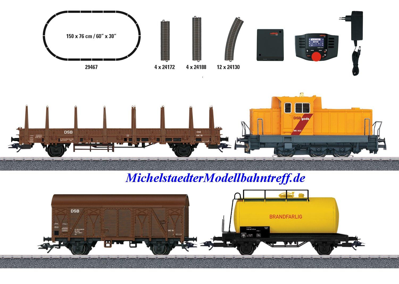 """(Neu) Märklin 29467 Startset Digital-Startpackung """"Dänischer Güterzug"""","""