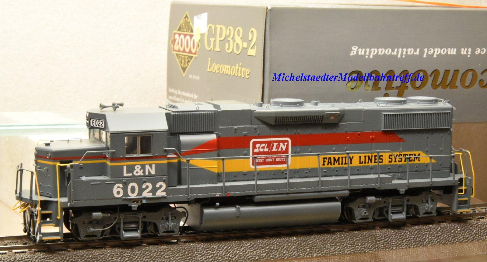 Life Like 31024 US Diesellok GP 38-2, (9725)