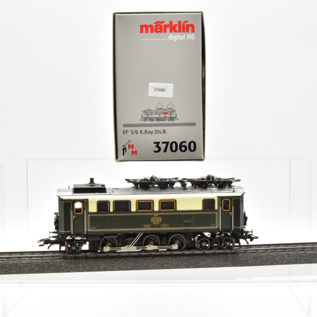 Märklin 37060 E-Lok BR EP 3/6 der K.Bay.Sts.B.,  (25686)