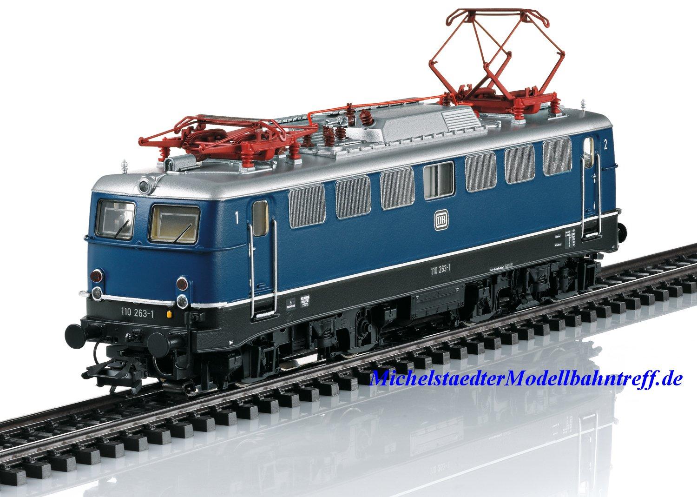 (Neu) Märklin 37108 E-Lok BR 110.1 der Deutschen Bundesbahn, Ep.IV,
