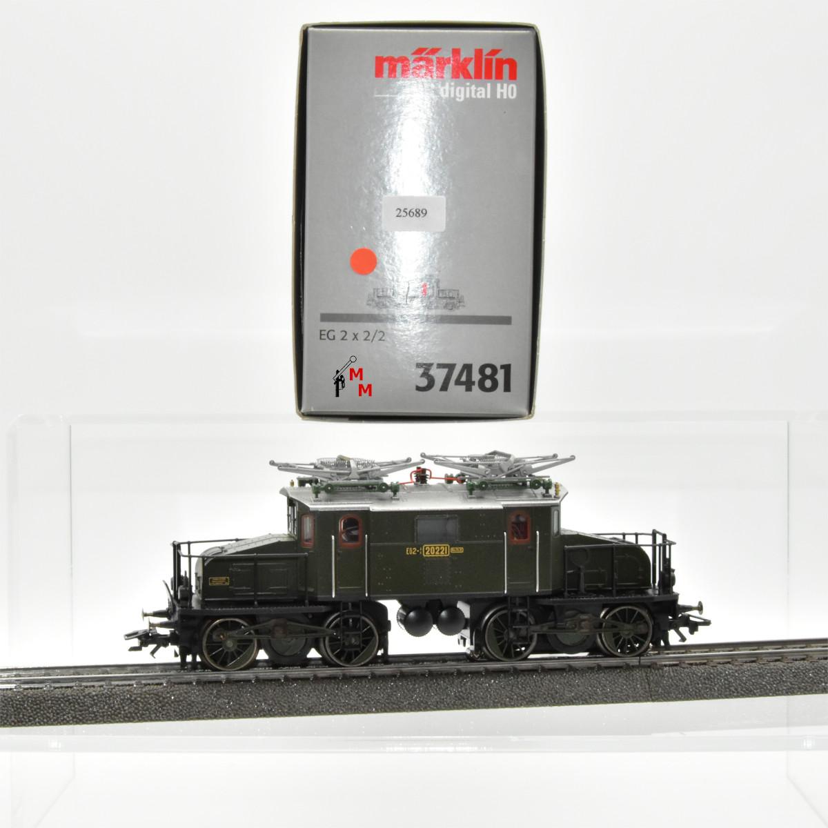 Märklin 37481 E-Lok Reihe EG 2 x 2/2 der K.Bay.Sts.B., (25689)