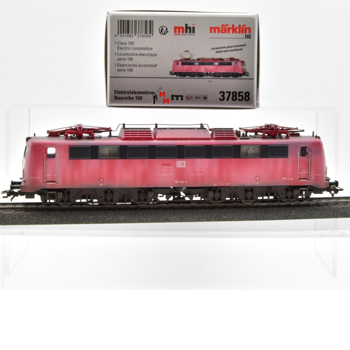 (Neu) Märklin MHI 37858 E-Lok-Lok BR 150 der DB AG, gealtert,