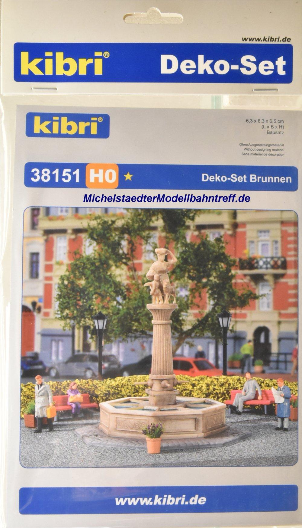 (Neu) Kibri 38151 Bausatz H0, Brunnen,
