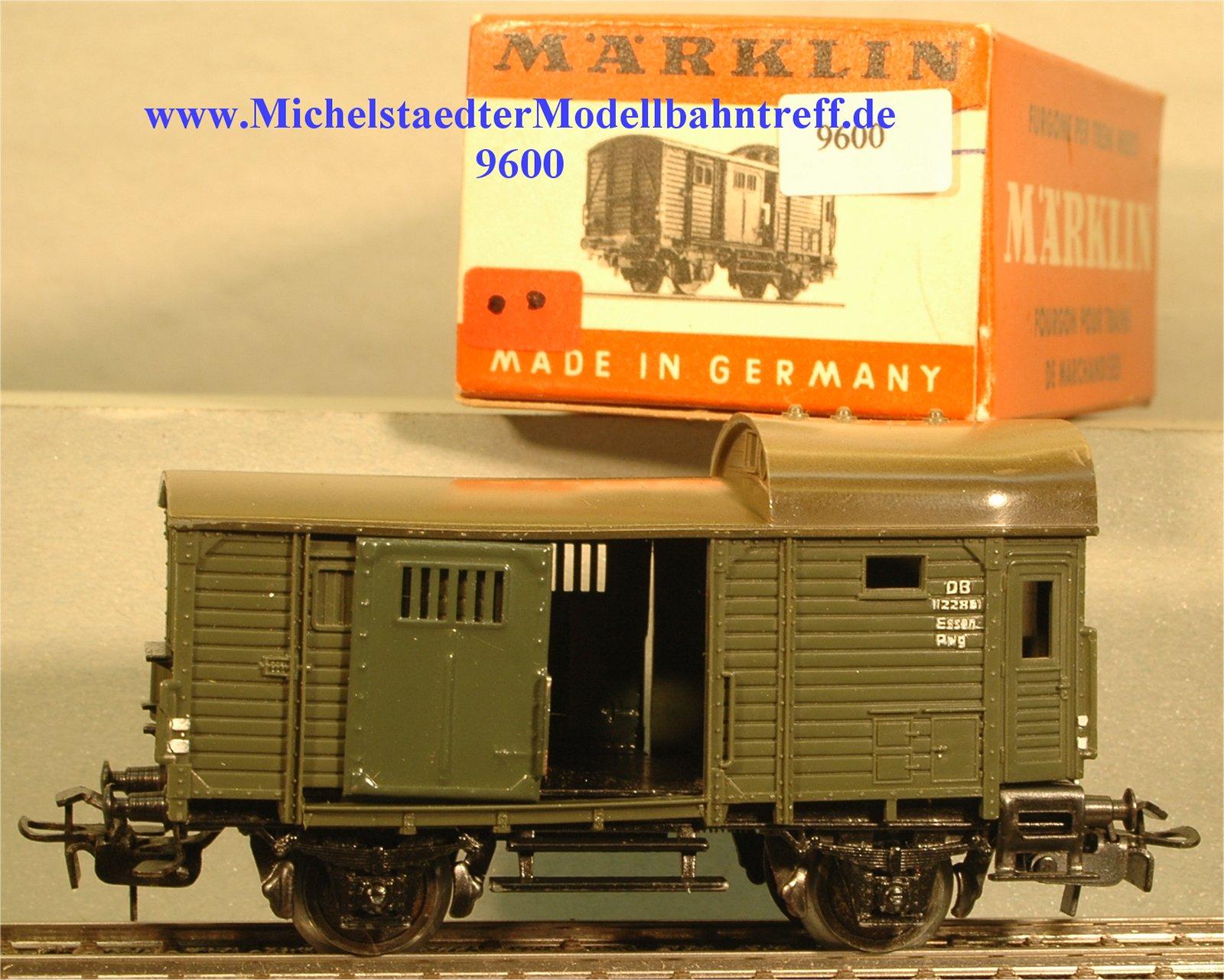 Märklin 4600.1 Güterzug-Gepäckwagen, (9600)