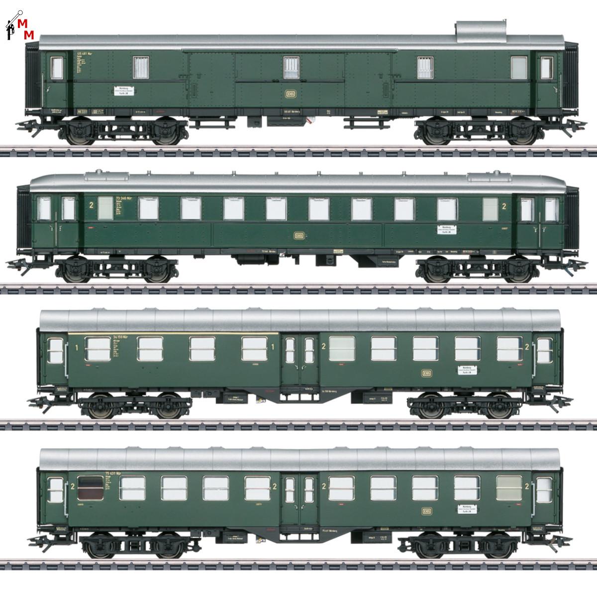 (Neu) Märklin 41327 Eilzugwagen-Set zum ,2. Insider Modell 2021,
