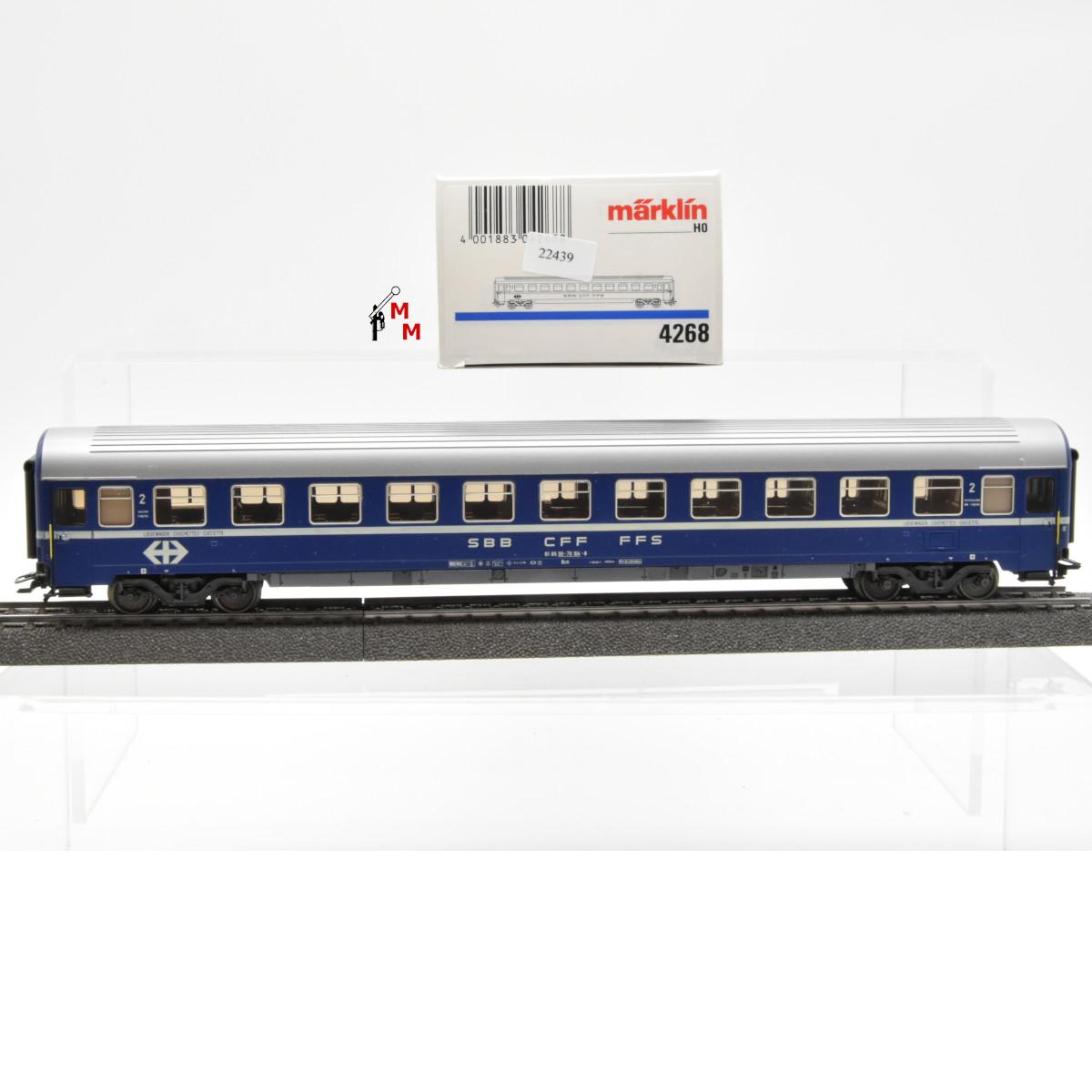 Märklin 4268.1 Liegewagen 2.Kl. der SBB, (22439)