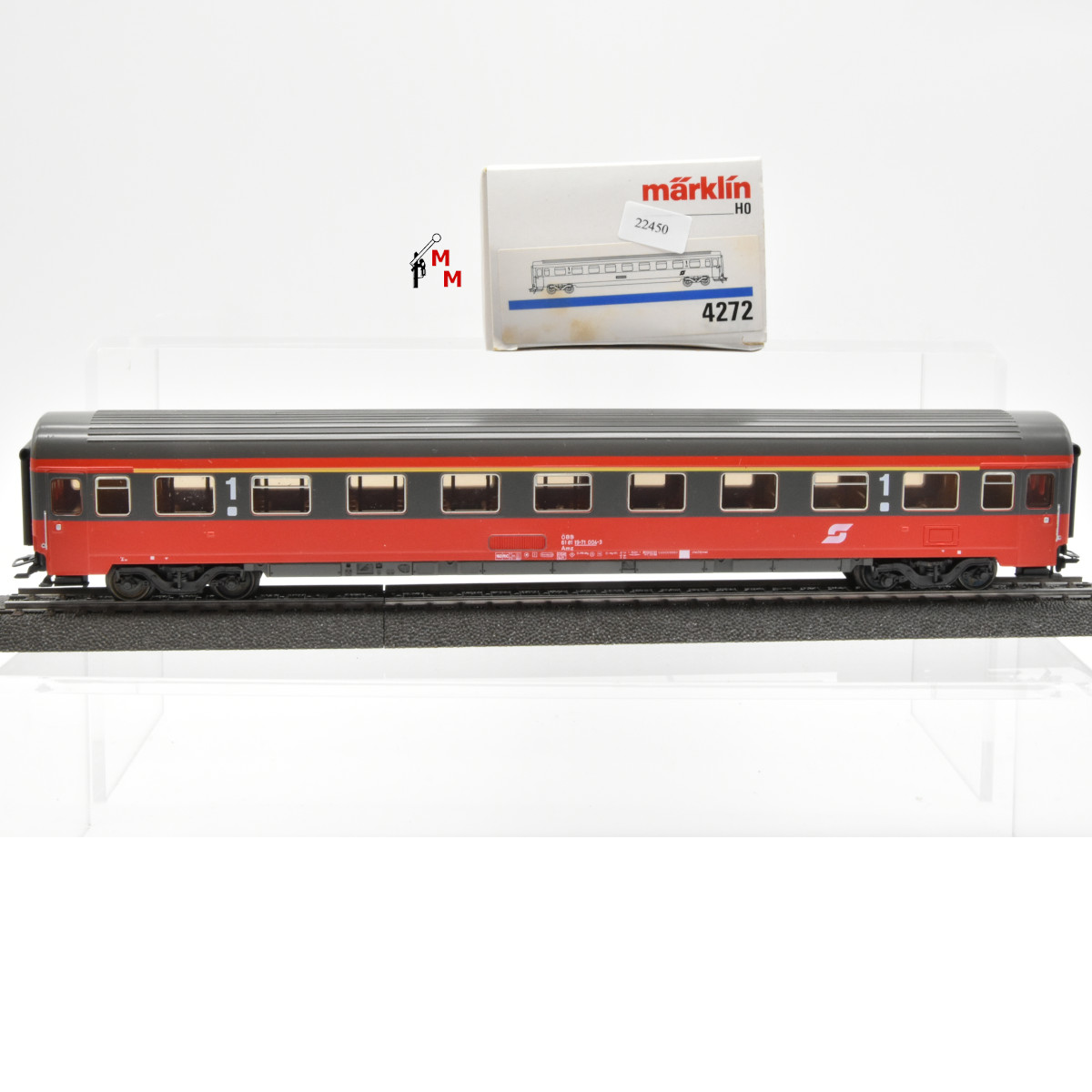 Märklin 4272.1 D-Zug-Wagen 1. Kl. der ÖBB, (22450)