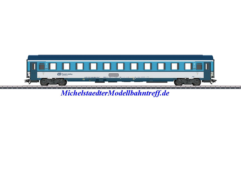 (Neu) Märklin 42745 Reisezugwagen 2.Kl. der Tschechischen Staatsbahn (CD), Ep.VI,