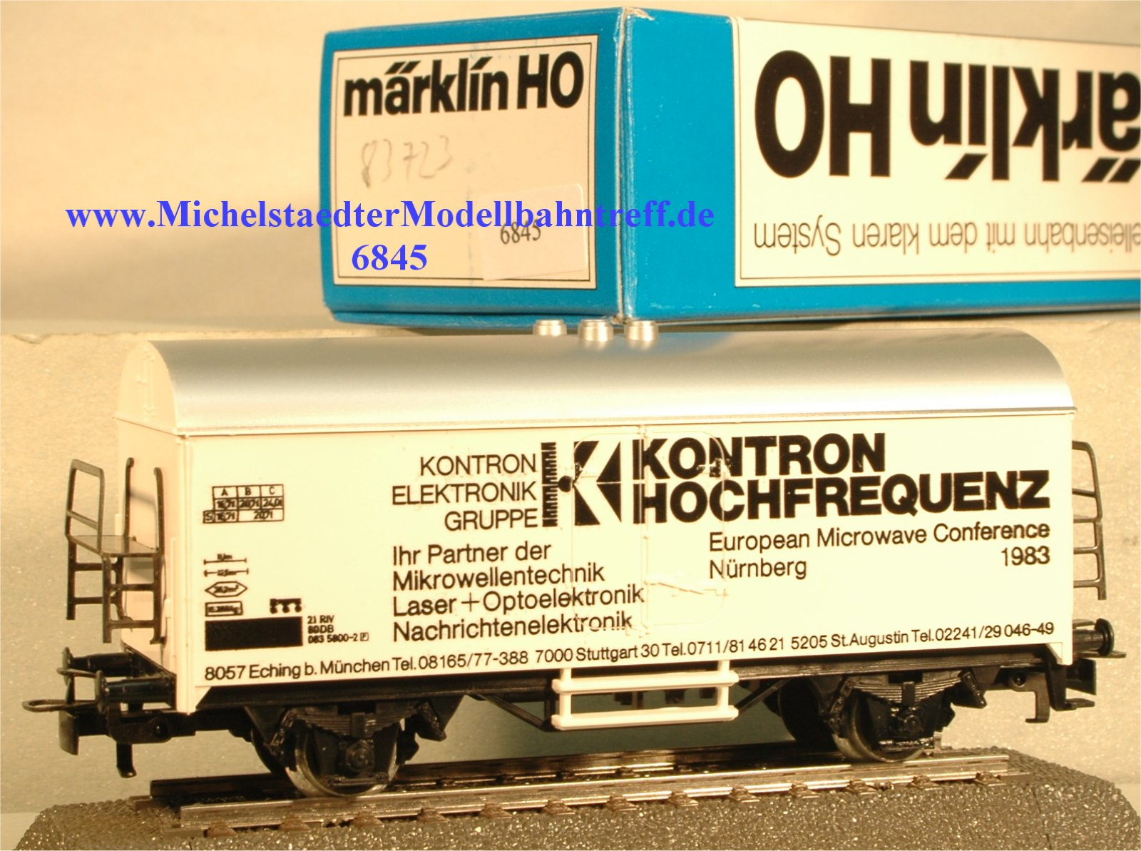 """Märklin 4415/83723 """"Kontron Hochfrequenz"""", (6845)"""