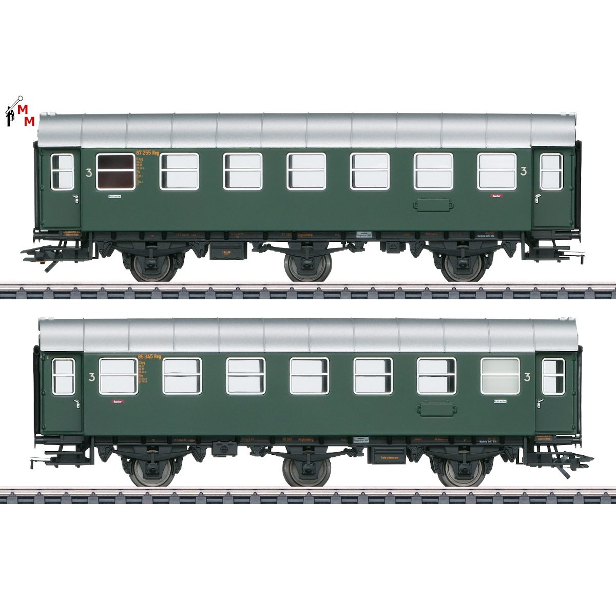 (Neu) Märklin 43185 Umbauwagen-Paar, 2./3.Kl., DB, Ep.III,