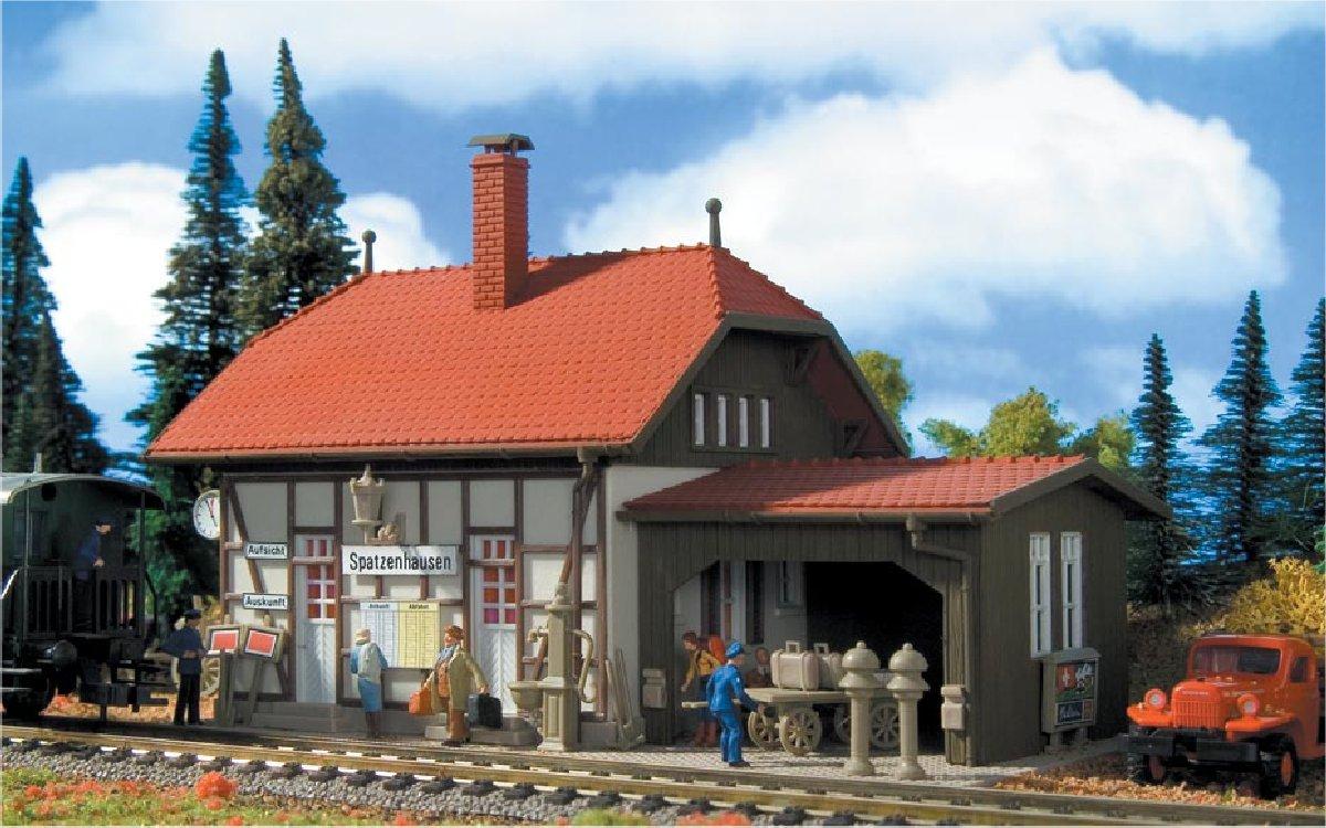 (Neu) Vollmer 43507 Haltepunkt Spatzenhausen, H0,