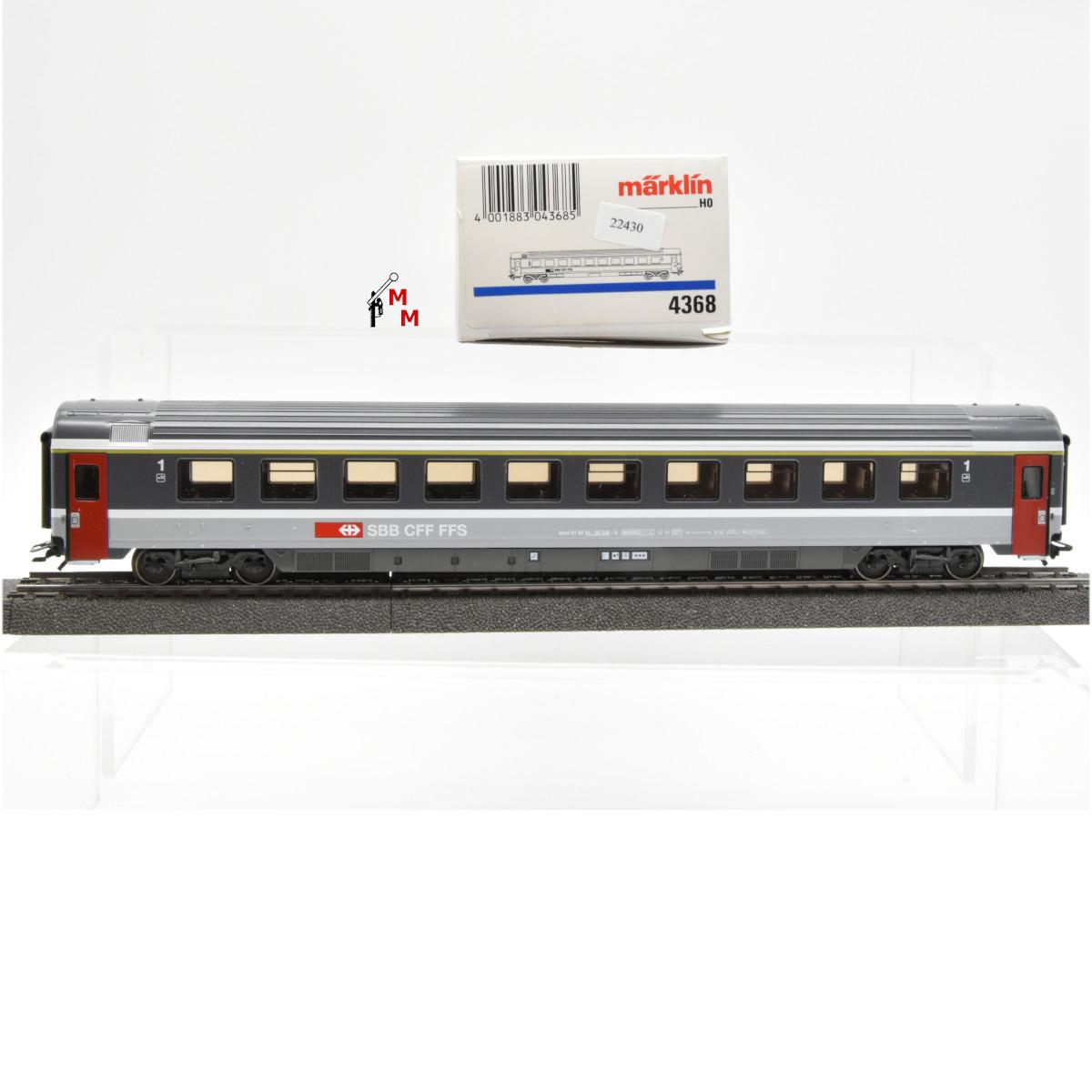 Märklin 4368.1 EuroCity-Wagen 1.Kl., SBB, (22430)