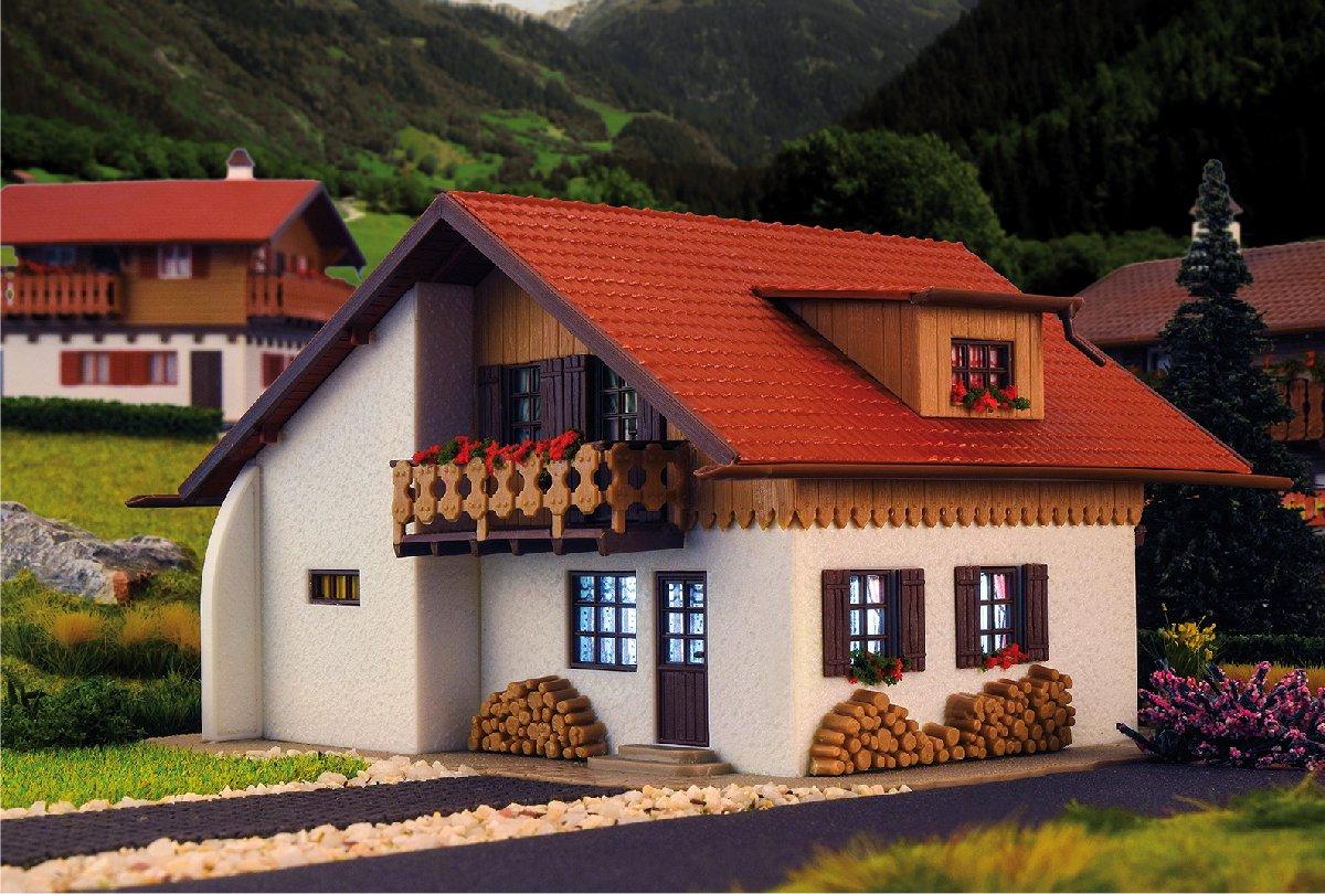 (Neu) Vollmer 43701 H0 Haus Bergblick,