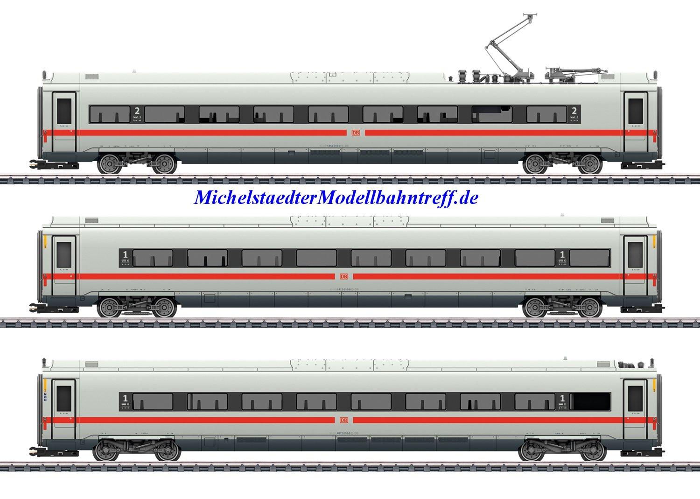 (Neu) Märklin 43724 Ergänzungswagen-Set zum ICE 4, (3 Wagen),