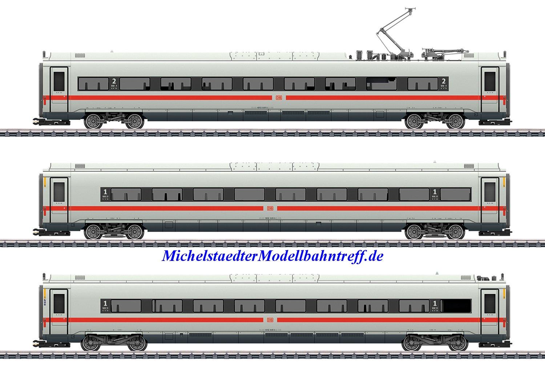 "(Neu) Märklin 43726 Ergänzungswagen-Set zum ""Klimaschützer"" ICE 4, (3 Wagen),"