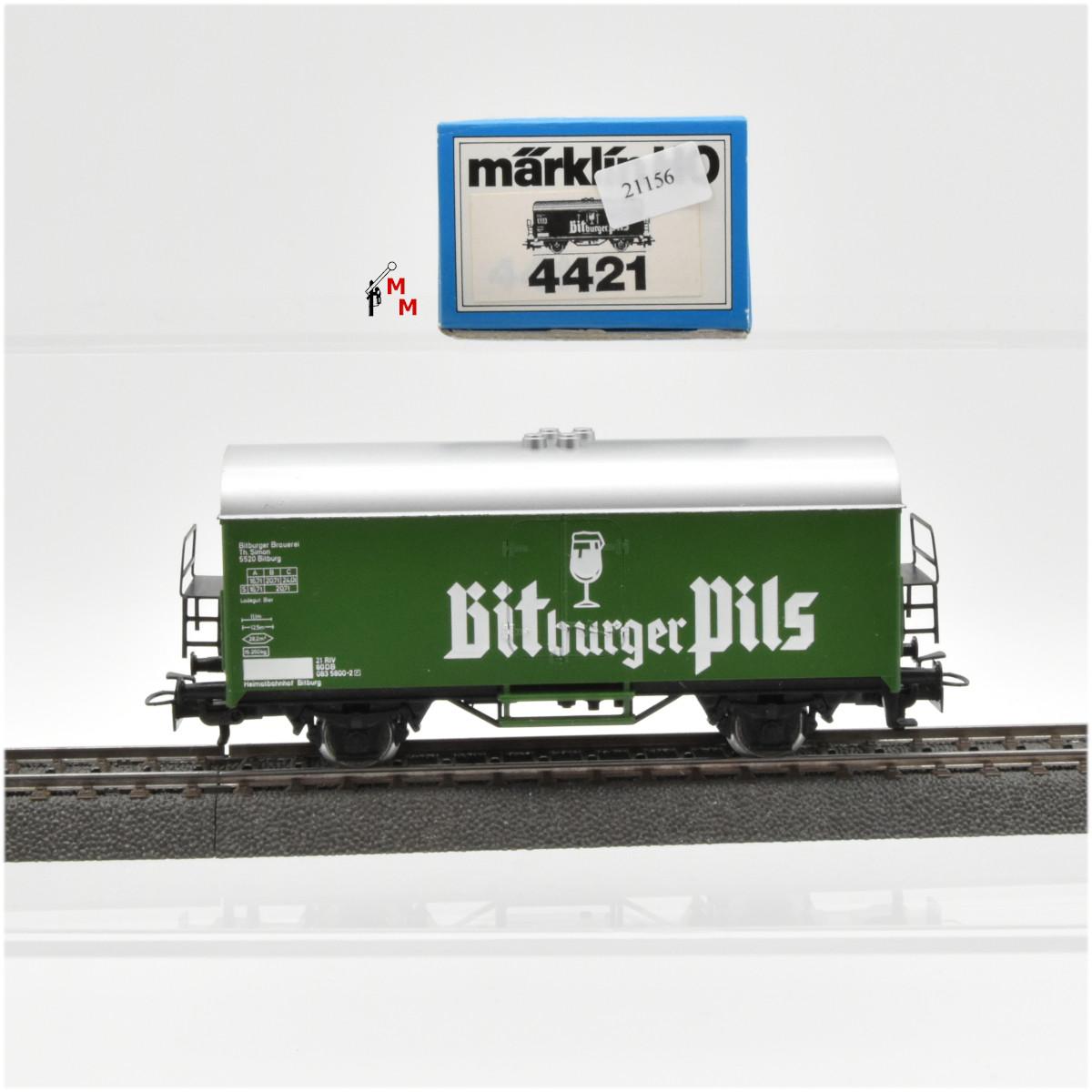 Märklin 4421.1 Kühlwagen Bitburger Pils, (21156)