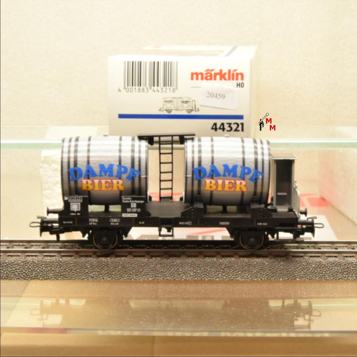 Märklin 44321 Bierwagen Dampf Bier, (20459)