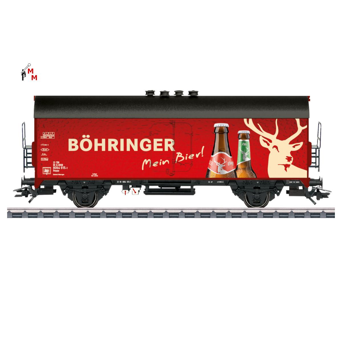 """(Neu) Märklin 45028 Bierkühlwagen """"Böhringer"""","""