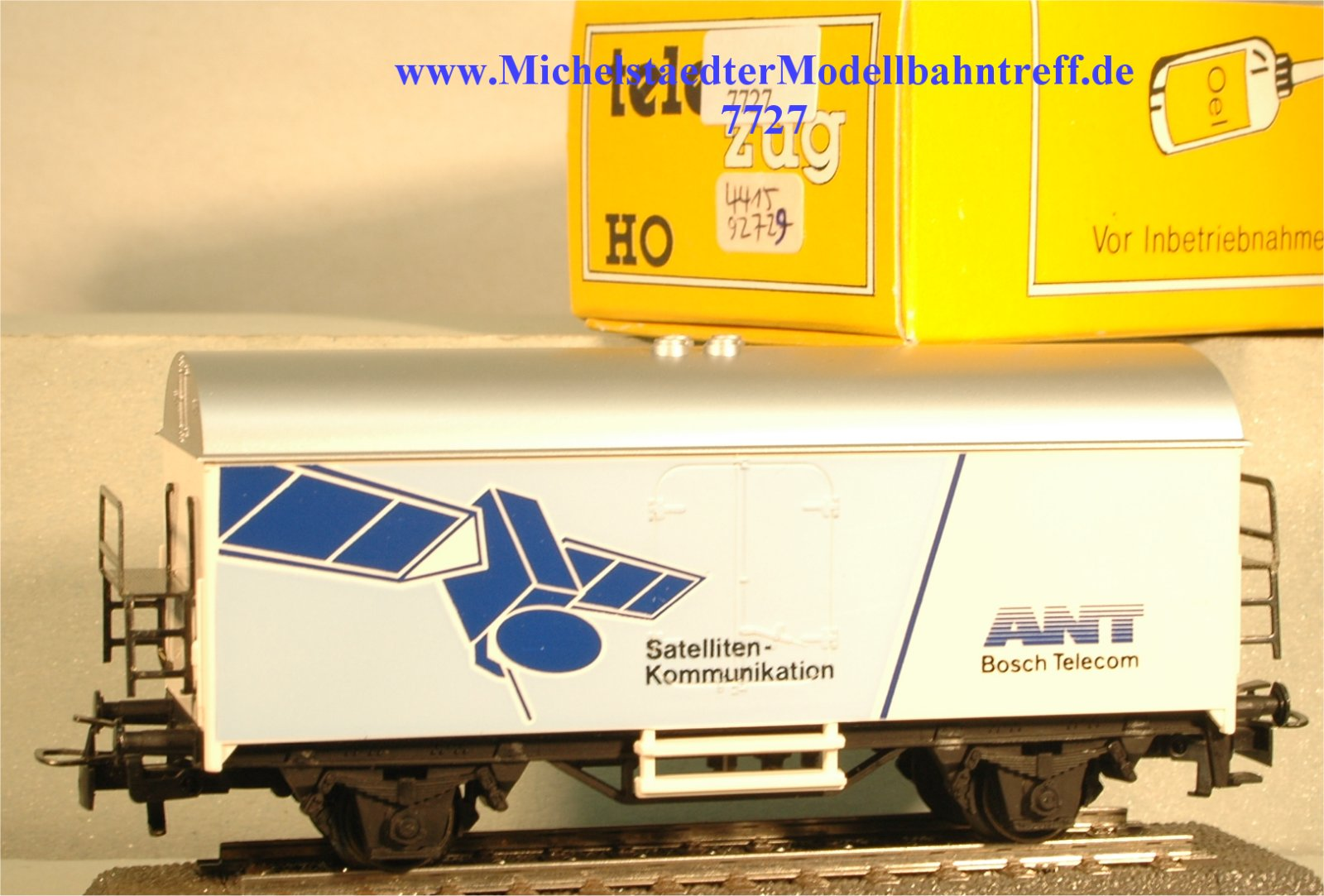 "Märklin 4415/92729 ""ANT Satelliten-Kommunikation"", (7727)"