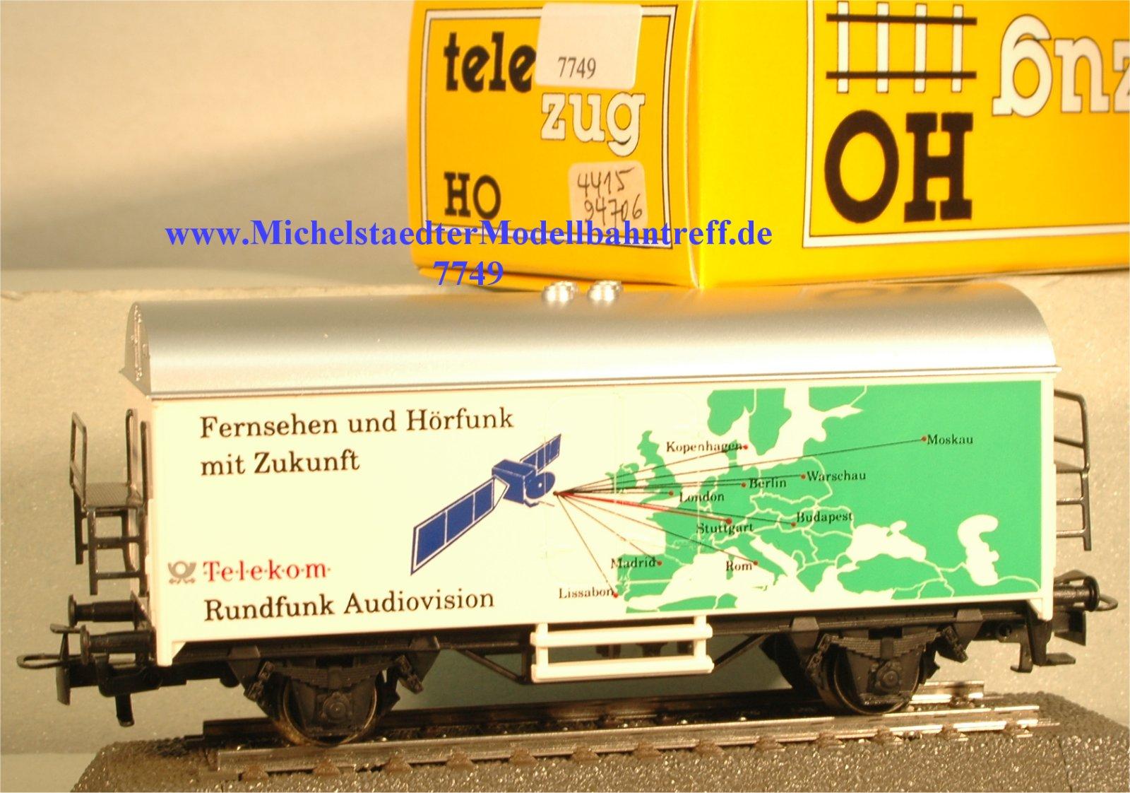 """Märklin 4415/94706 """"Fernsehen und Hörfunk mit..."""", (7749)"""