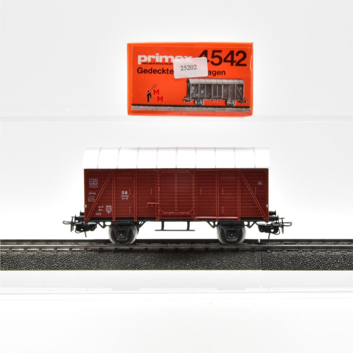 Primex 4542.1 Ged. Güterwagen der DB, (25202)