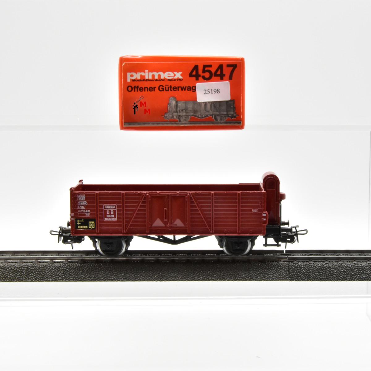 Primex 4547.1 Offener Güterwagen mit BH der DB, (25198)