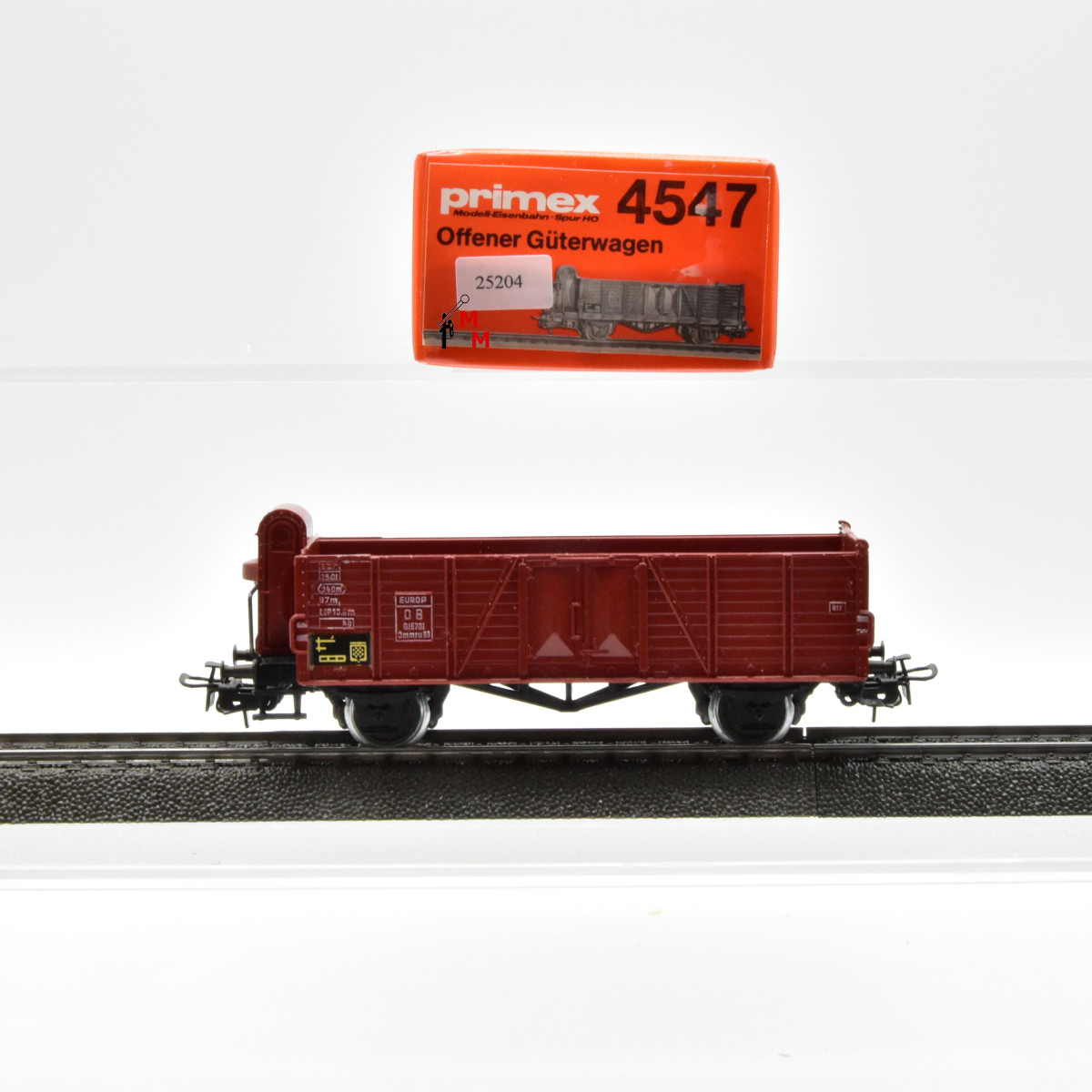 Primex 4547.1 Offener Güterwagen mit BH der DB, (25204)