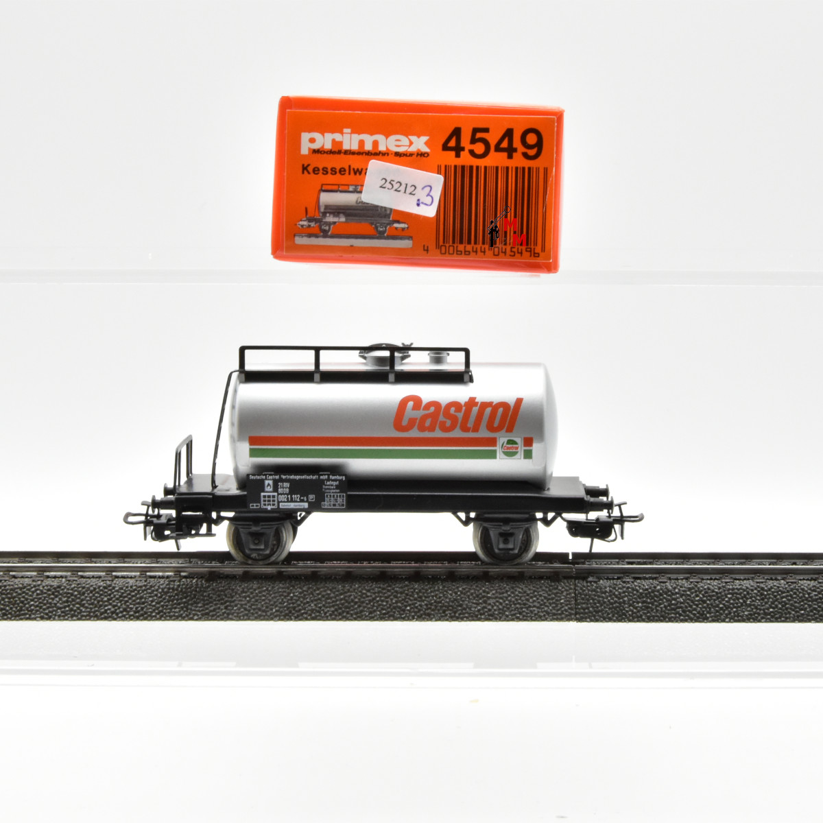 "Primex 4549.3 Kesselwagen ""Castrol"", (25212)"