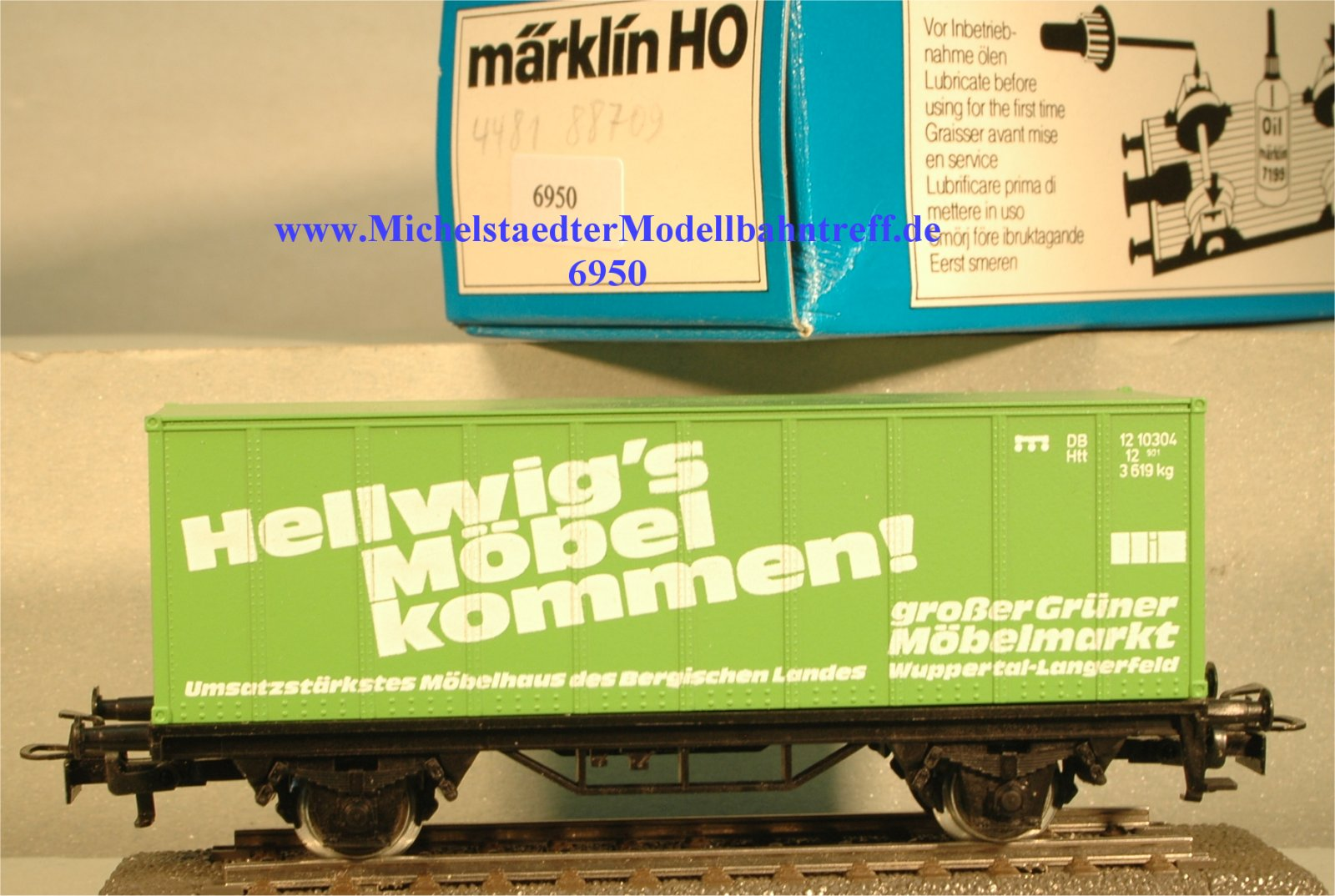 """Märklin 4481/88709 """"Hellwig´s Möbel.."""", (6950)"""